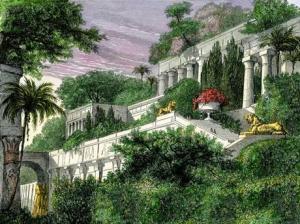 Os jardins suspensos de Ninive?