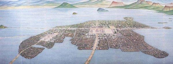 Tenochtitlán: O Planejamento urbano asteca